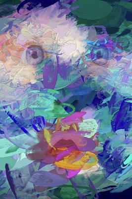Digital Art - Baby Face by John Haldane