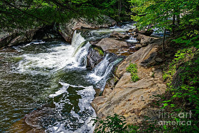 Photograph - Baby Falls On The Tellico by Paul Mashburn