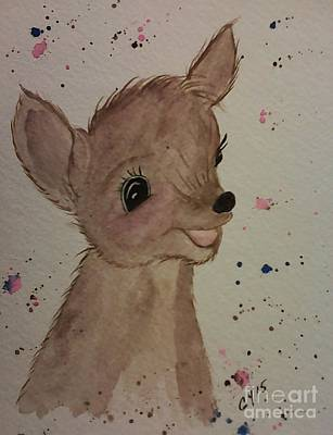 Painting - Baby by Ginny Youngblood