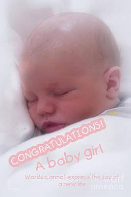 Photograph - Baby Girl by Elaine Teague