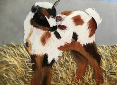 Pastel - Baby Goatie by Michele Turney