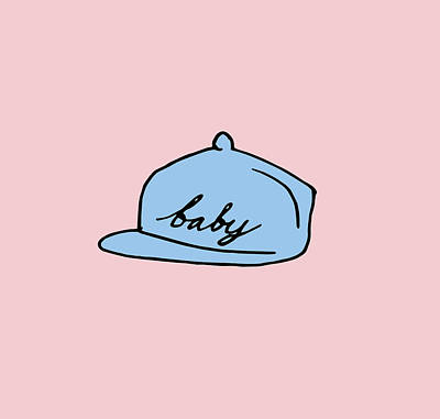 Baby Hat 2 Art Print