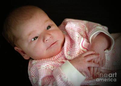 Photograph - Baby Heather 1093cg by Doug Berry