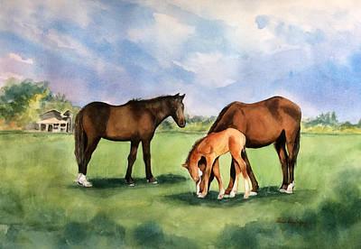 Painting - Baby Horse by Hilda Vandergriff