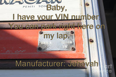 Photograph - Baby I Have Your Vin by Donna L Munro