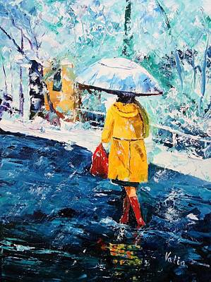 Painting - Baby It's Cold Outside by Valerie Curtiss