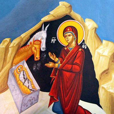 Photograph - Baby Jesus At St. George Church by Munir Alawi
