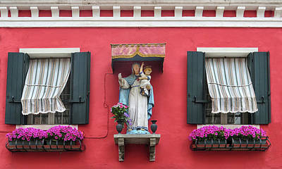 Photograph - Baby Jesus In Burano by Dave Mills
