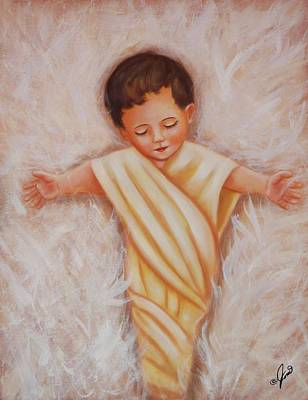 Painting - Baby Jesus by Joni McPherson