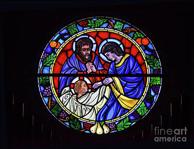 Photograph - Baby Jesus Rose Window by Debby Pueschel