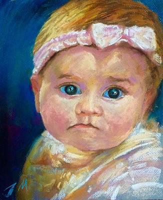 Painting - Baby by Jieming Wang