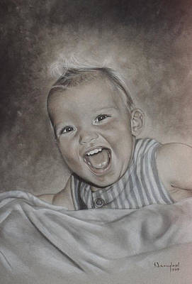 Pastel - Baby Laughing by Nanybel Salazar