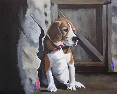 Painting - Baby Louie by Carol Russell
