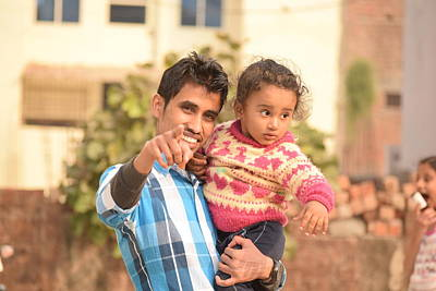 Mandal Photograph - Baby by Manish Mandal