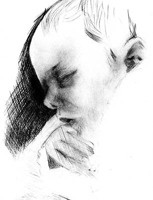 Baby Art Print by Reza Naqvi