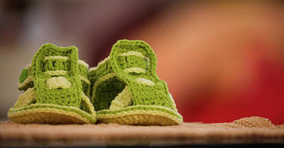 Photograph - Baby Shoes by Hyuntae Kim