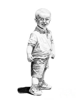 Baby Spock Art Print by Murphy Elliott