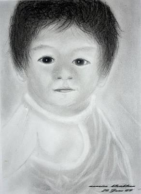 Drawing - Baby by Wanvisa Klawklean