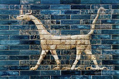 Babylon Ishtar Gate 600 B.c Art Print by Granger