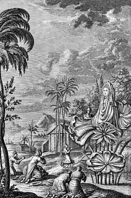 Babylon: Sun Worship Art Print by Granger