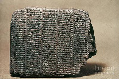 Photograph - Babylonian Calendar by Granger
