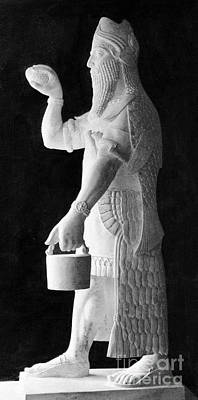Babylonian Photograph - Babylonian God Of Healing, 5000 Bc by Wellcome Images