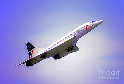 Photograph - Bac Concorde  by Tom Jelen