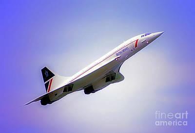 Bac Concorde  Art Print