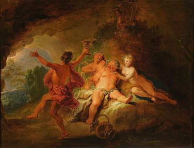 Painting - Bacchanalia by Nicolas Bertin