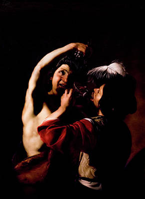 Photograph - Bacchus And A Drinker - Manfredi by Weston Westmoreland