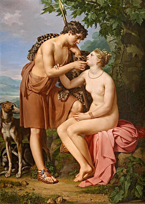 Painting - Bacchus And Ariadne by Joseph Paelinck