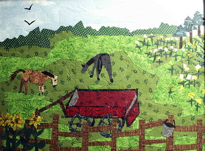 Back 40 Art Print by Charlene White