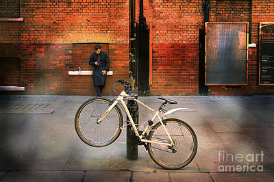 Photograph - Back Alley Bike by Craig J Satterlee