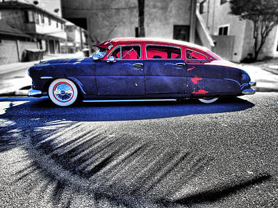 Automobile Photograph - Back Alley Hudson by Kevin Felts