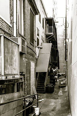 Photograph - Back Alley by Wade Brooks