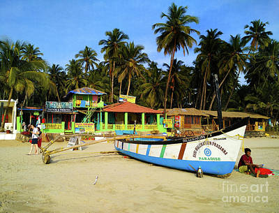 Goa Photograph - Back Ashore by Vaibhav Sharma