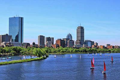 Photograph - Back Bay # 2 - Boston by Allen Beatty