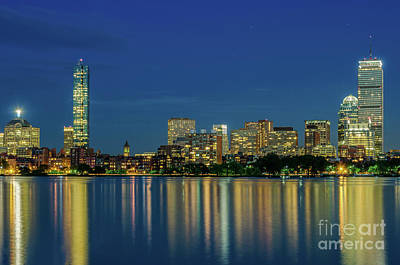 Photograph - Back Bay At Dusk by Mike Ste Marie