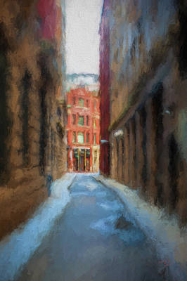 Painting - Back Bay Boston by Thomas Logan