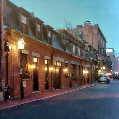 Photograph - Back Bay Row Houses - Boston by Joann Vitali