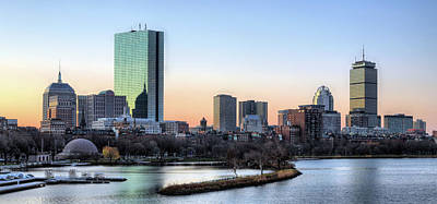 Charles River Photograph - Back Bay Sunrise by JC Findley