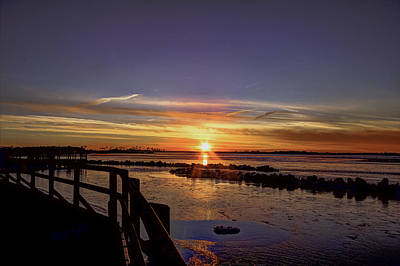 Photograph - Back Bay Sunset IIi by Pete Federico
