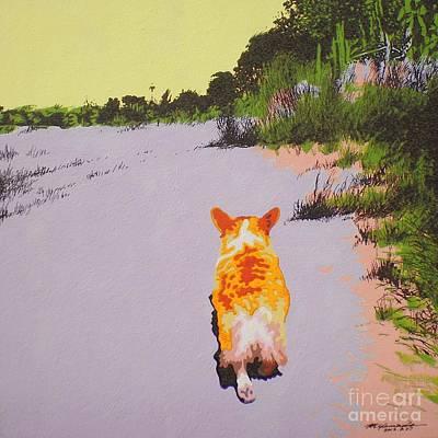 Painting - Back Bay Trail V.29 by Max Yamada