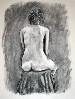 Back Beauty Art Print by Jean Haynes