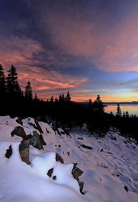 Photograph - Back Country Bliss Sunset by Sean Sarsfield