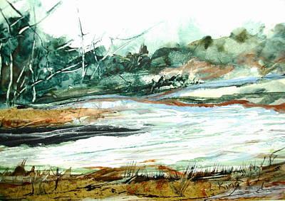Linda King Painting - Back Country by Linda King