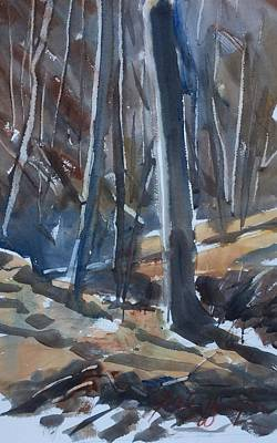 Painting - Back Creek  by JULES Buffington
