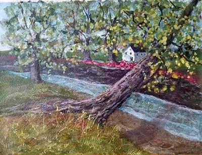 Painting - Back Creek by Robert Harrington