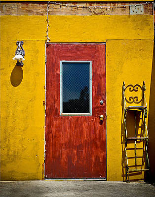 Back Door Art Print