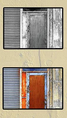 Photograph - Back Door by Nareeta Martin